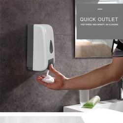 Dispenser / dozator manual pentru sapun lichid / gel dezinfectant